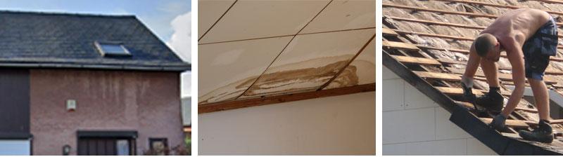 Segers, isolation toiture pose de Velux couverture en tuiles metalliques DECRA